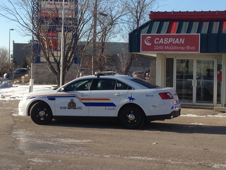 The RCMP are investigating the construction of the Canada Post building on Wellington near the airport.