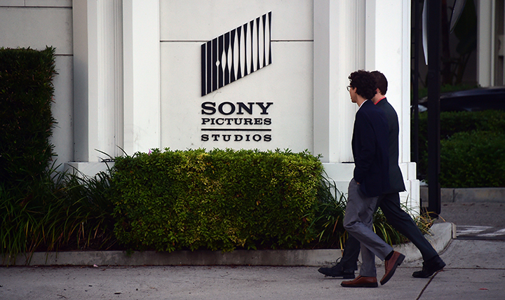 Sony Pictures Studios in Los Angeles, pictured in a file photo.