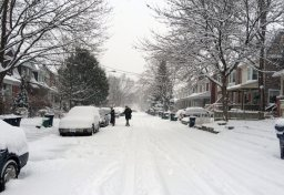 Continue reading: Snowfall warning issued for Toronto and surrounding areas