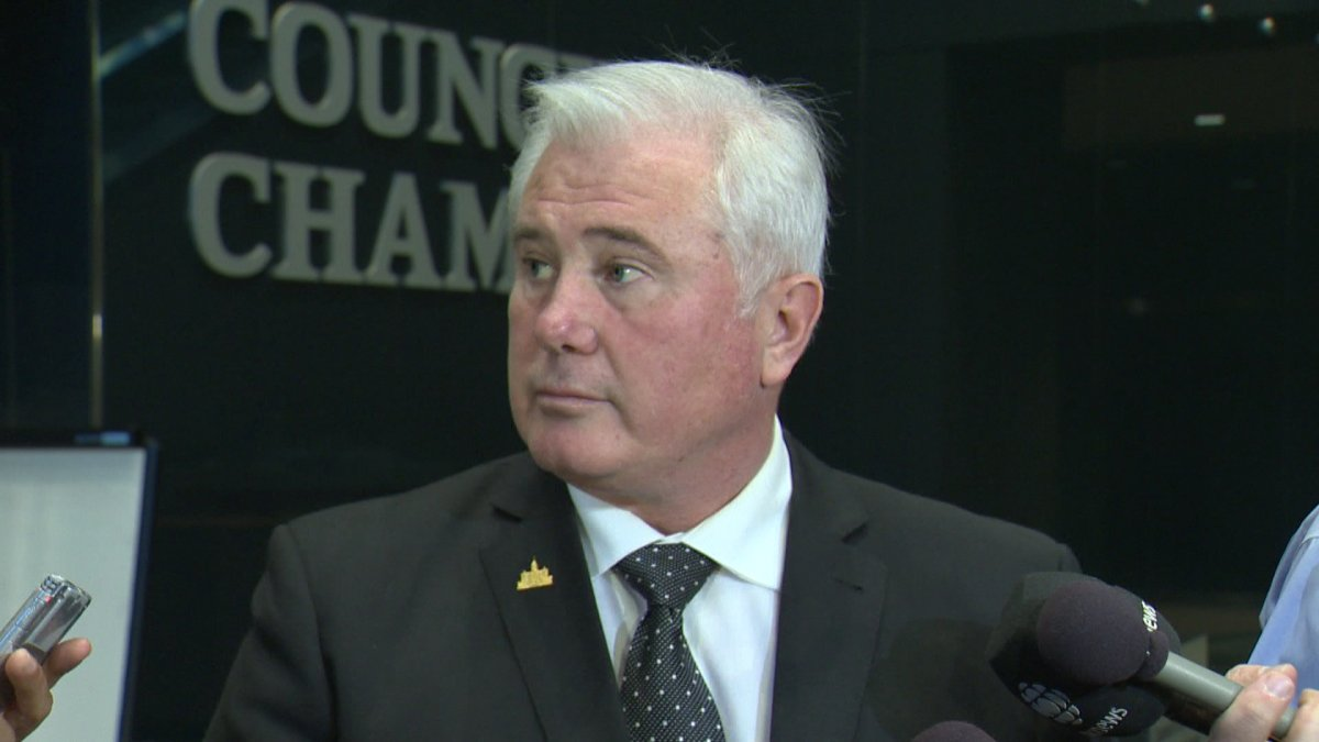 Ward 1 Councillor Ward Sutherland says he wants police to crack down on distracted pedestrians.