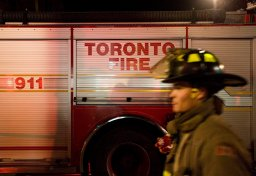 Continue reading: Firefighters battle blaze near Sherbourne and Bloor