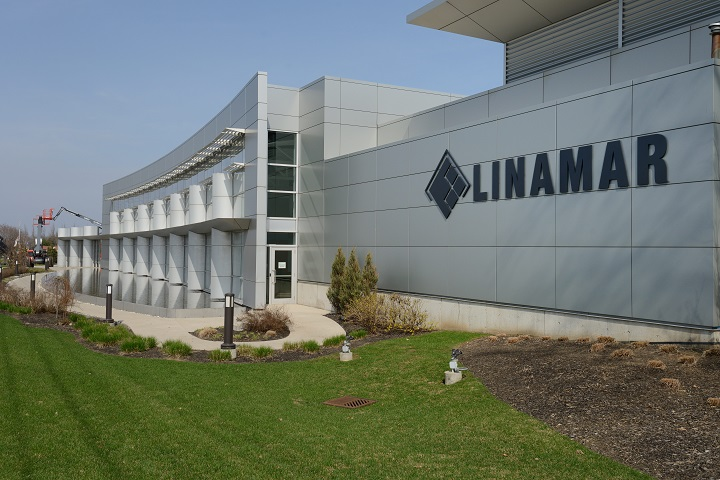 A Linamar facility in Guelph, Ont., May 8, 2014.