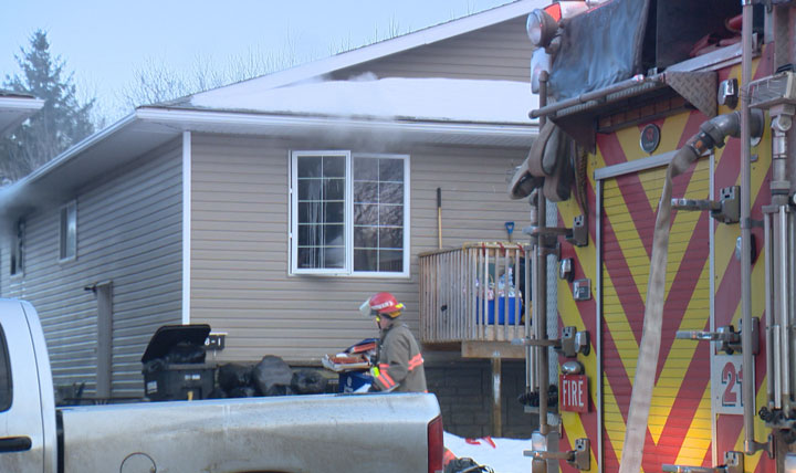 Saskatoon Fire Department says smoking materials to blame for Meadowgreen house fire Friday afternoon that caused $50,000 in damage.