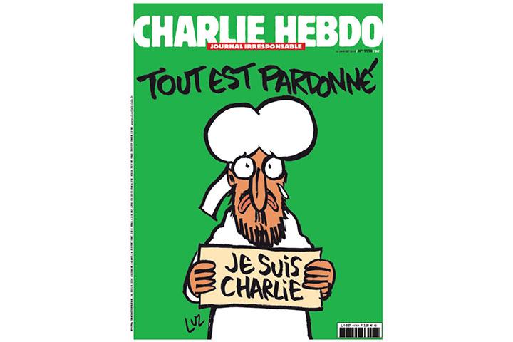 Charlie Hebdo Muhammad cover