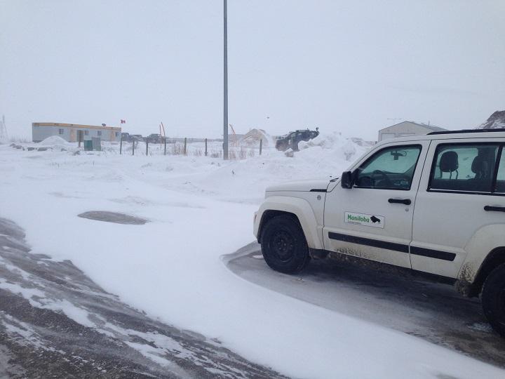 Conservation officers at Samborski Garden Supply in Winnipeg on Wednesday, January 14, 2014.