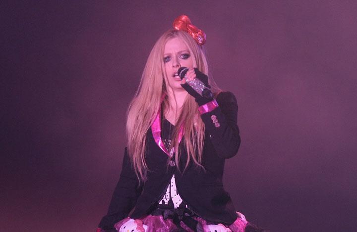 Avril Lavigne, pictured in February 2014.