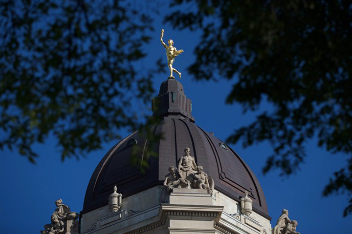 Manitoba Legislative Building Golden Boy