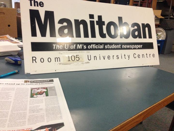 The Manitoban University of Manitoba Charlie Hebdo