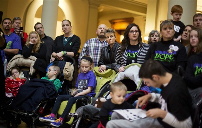 Medical pot only OK for sick kids failed by other drugs: MDs - image