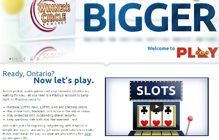 Ontario Lottery and Gaming gambling website goes live - image