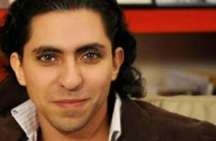 Raif Badawi, a Saudi blogger convicted of insulting Islam, was brought after Friday prayers to a public square in the port city of Jiddah and flogged 50 times before hundreds of spectators.