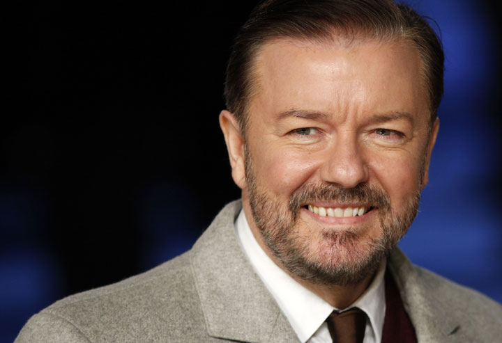 Ricky Gervais, pictured in December 2014.