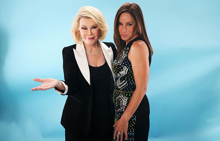 Joan Rivers and Melissa Rivers, pictured in July 2013.