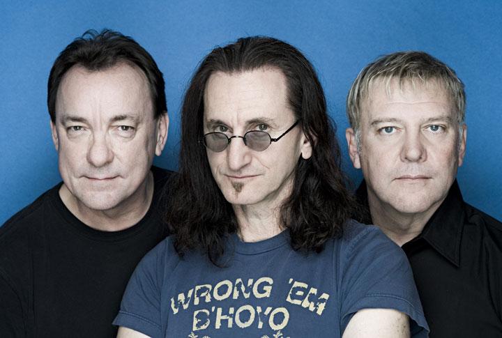 Canadian rock band Rush.