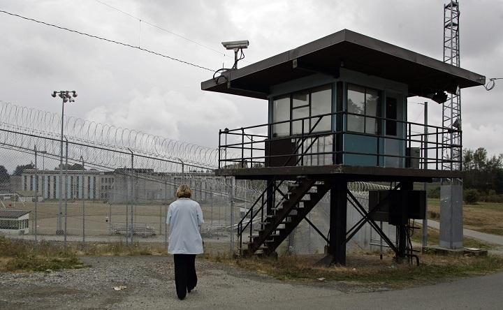 The medium-security Matsqui prison in Abbotsford, B.C.