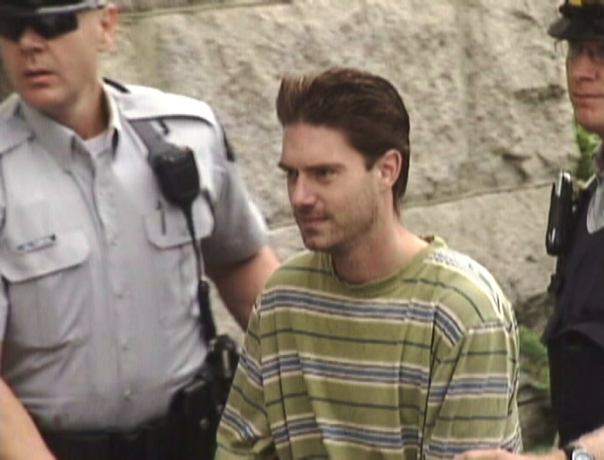 In August 2010, Kenneth Barter,38, killed and dismembered Nathan Mayrhofer,32, in Barter's downtown Vernon apartment.