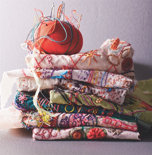Hand embroidery has seen a resurgence in recent years, but it's different from the cross-stitch patterns and samplers of yesteryear.