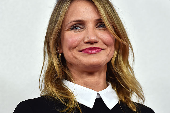 Cameron Diaz, pictured in December 2014.