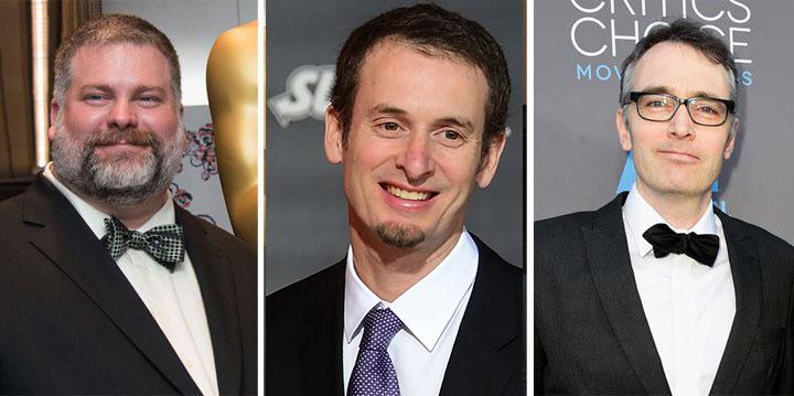 Dean DeBlois, Chris Williams and Graham Annable.