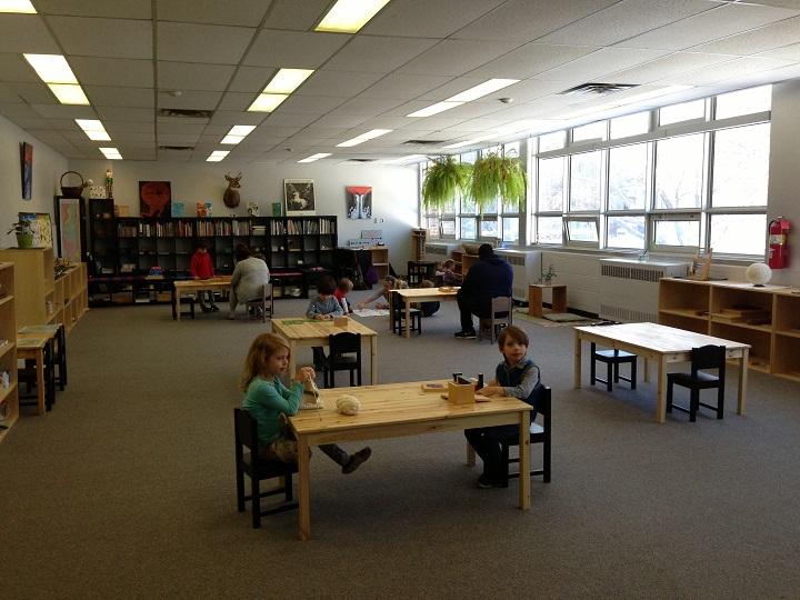 Photo inside Old Orchard Junior Public School taken on Feb. 10, 2015.