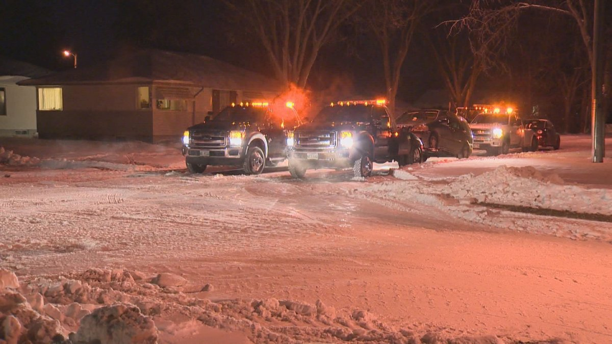 City of Winnipeg lifts Annual Snow Route Parking Ban.