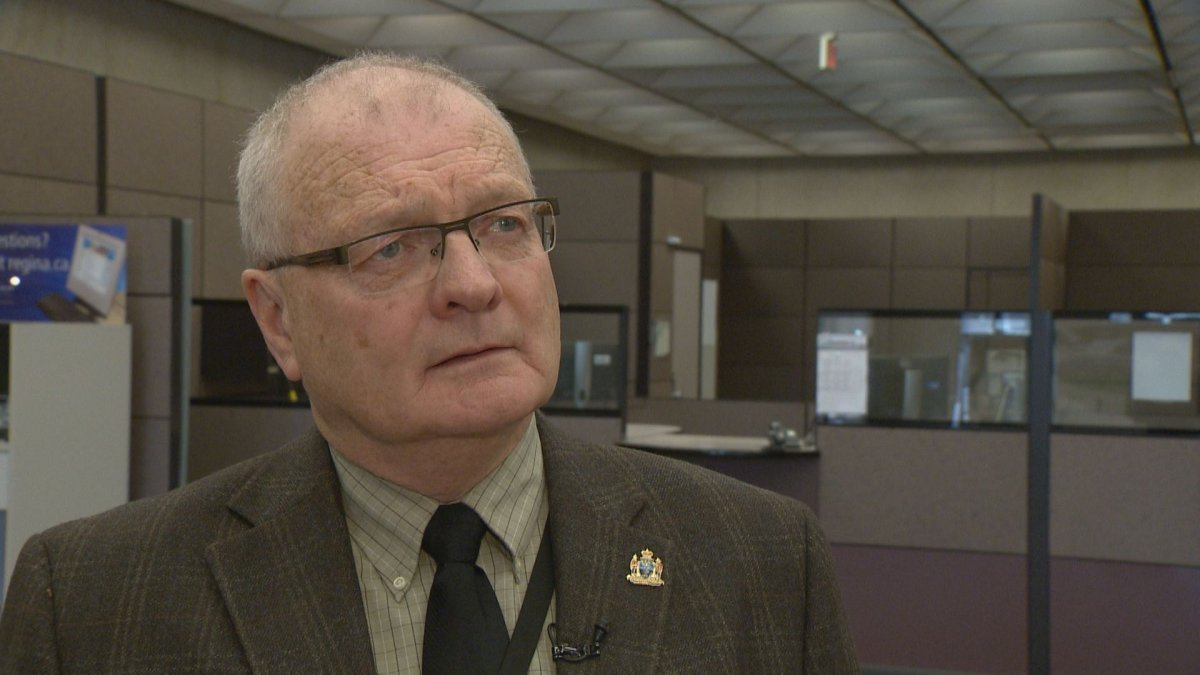 Ward 8 Coun. Mike O'Donnell has served four terms on Regina city council.