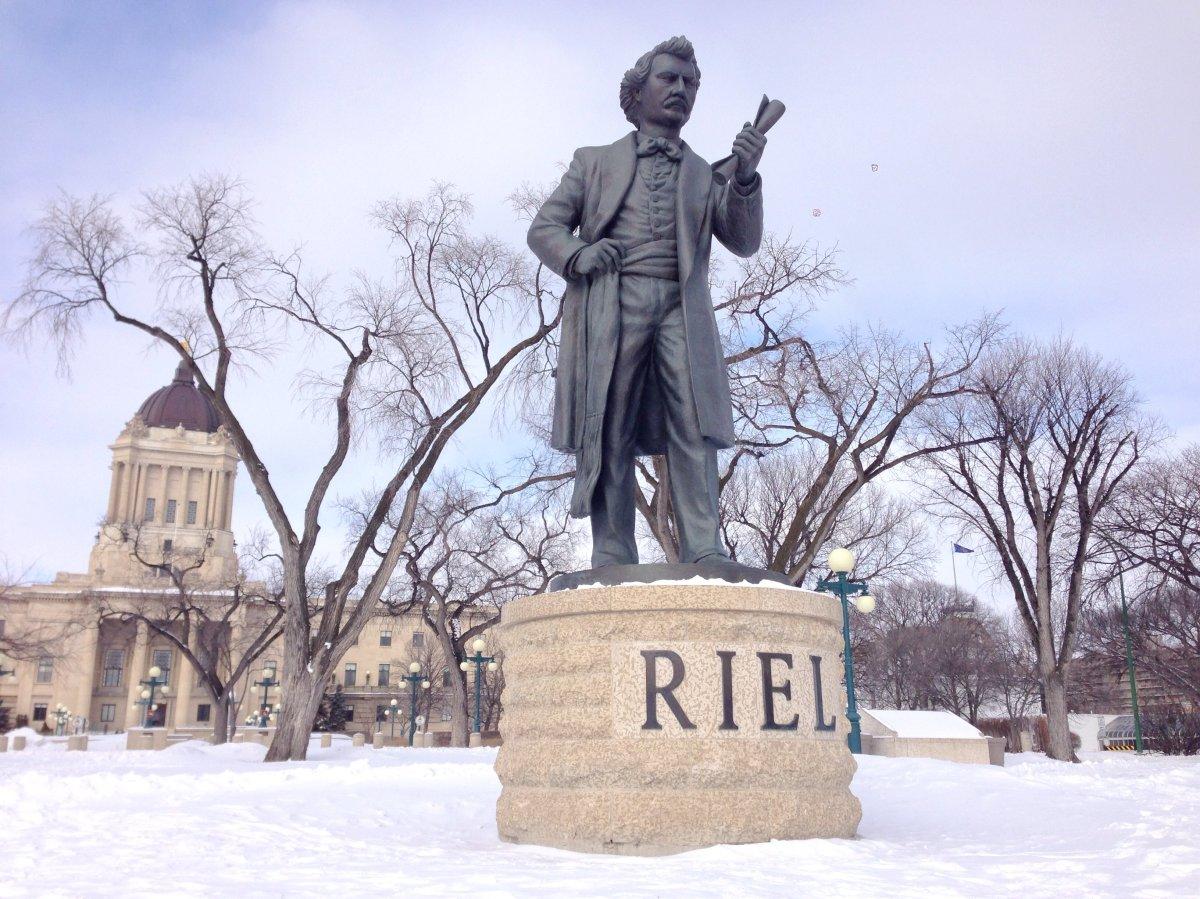 Louis Riel was honoured in Winnipeg Nov. 16, the anniversary of his death.