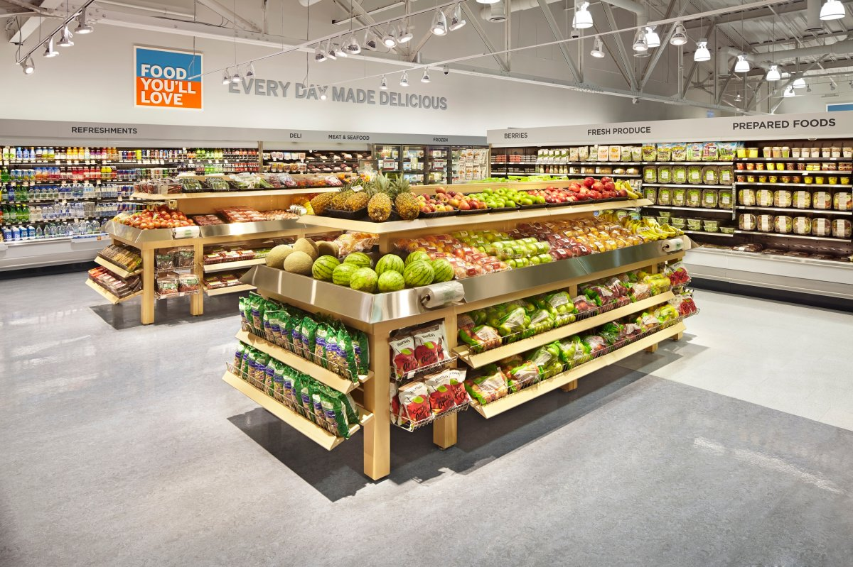 Eight Shoppers Drug Mart stores in Regina will start selling groceries similar to this store's selection in Ontario.