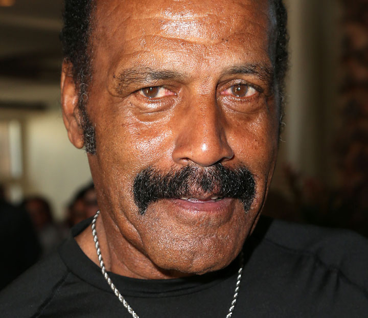 Fred Williamson, pictured in  November 2014.