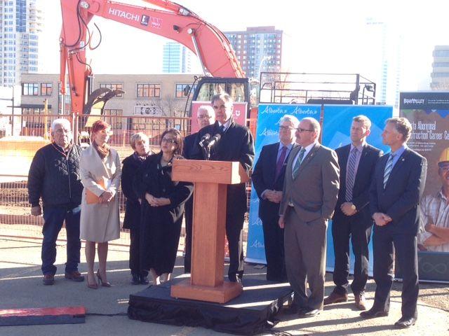 Alberta launches pilot project to help more aboriginals enter construction. March 17, 2015.