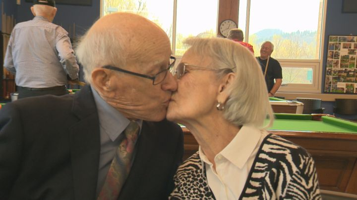 100 year old married for 75 years