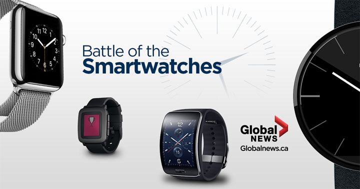 We explore some of the features of the Apple Watch, Moto 360, Samsung Gear S and the Pebble Time to see how they compare.