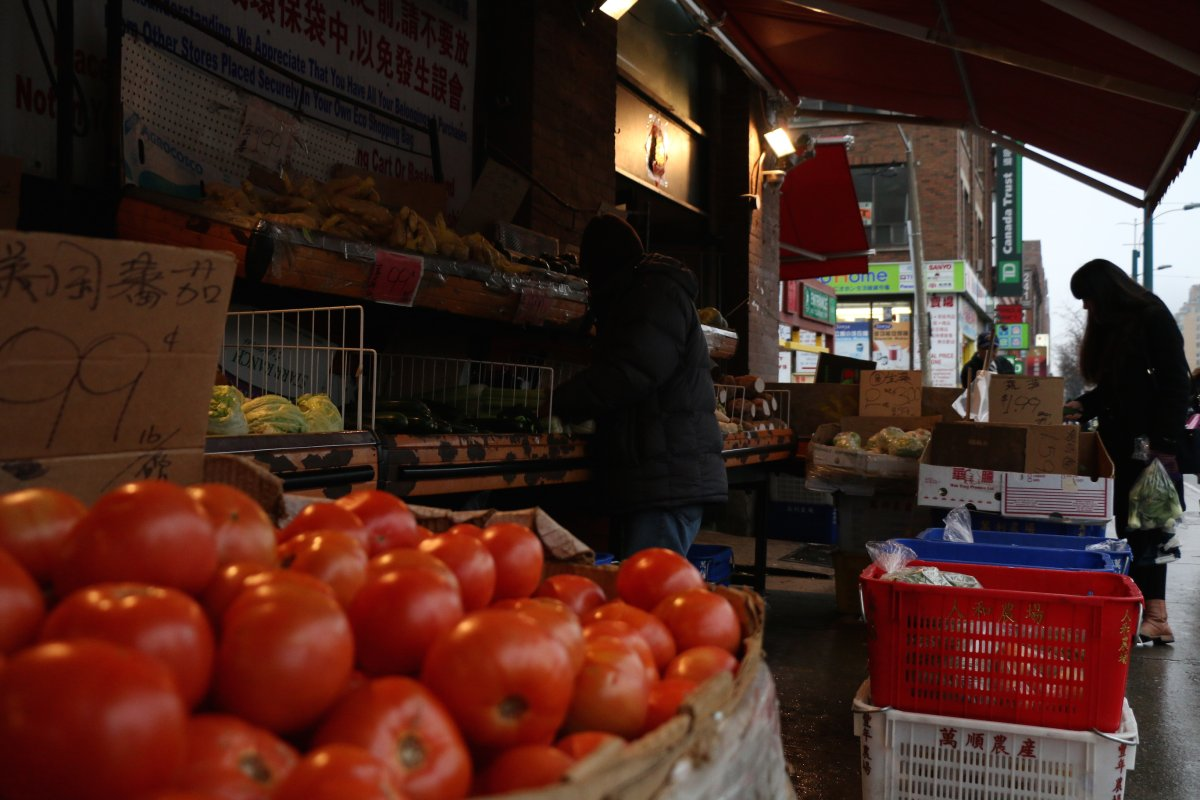 More than a million Canadian households can't afford healthy food, Statscan says.