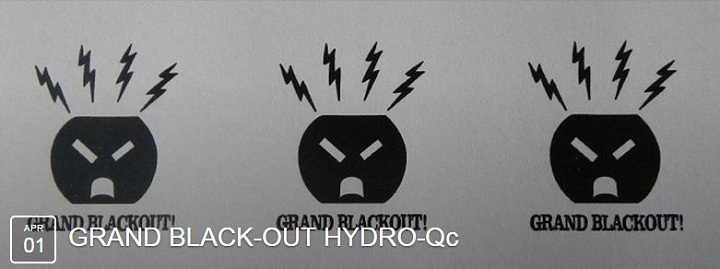 A unique protest against Hydro-Quebec rate hikes is planned for April 1, 2015.