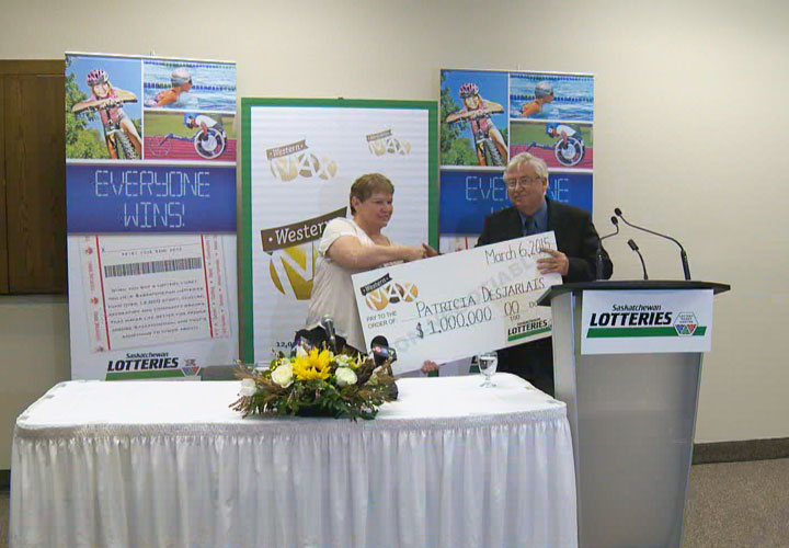 Saskatchewan's newest lottery winner Patricia Desjarlais has been at it for three decades and now has a million reasons to keep playing.