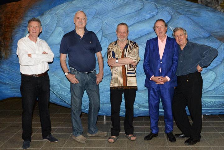 Members of Monty Python, pictured in July 2014.