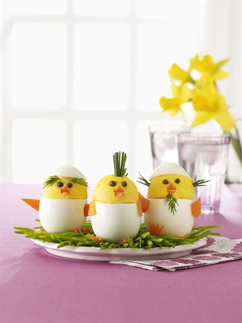 DIY ideas for the Easter brunch table