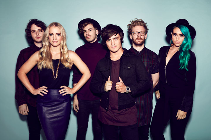 Australian indie pop band Sheppard.