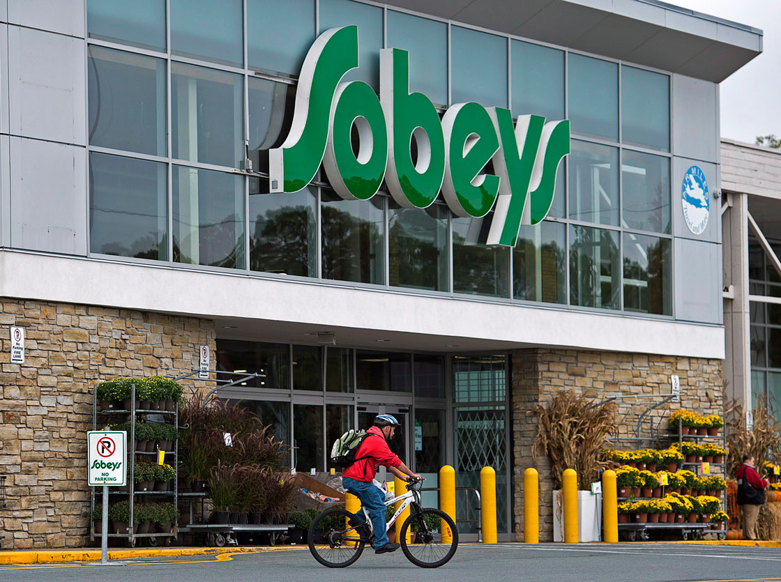 """Fresh food prices rose 7.1 per cent at Sobeys locations in the latest quarter. """"The big challenge in an environment like this one is finding a way to get customers to accept the reality that prices are changing,"""" CEO Marc Poulin said."""