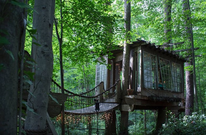 Peter Pan fans rejoice. Could this tree house listing on Airbnb be Neverland on Earth?.