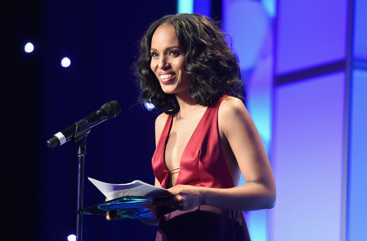 Kerry Washington, pictured at the GLAAD Awards on March 21, 2015.