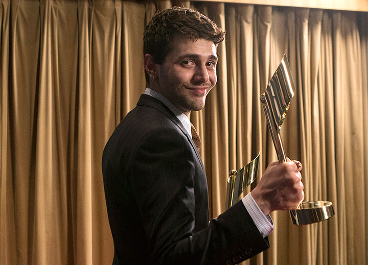 Xavier Dolan, director of 'Mommy,' pictured at the Canadian Screen Awards on March 1, 2015.