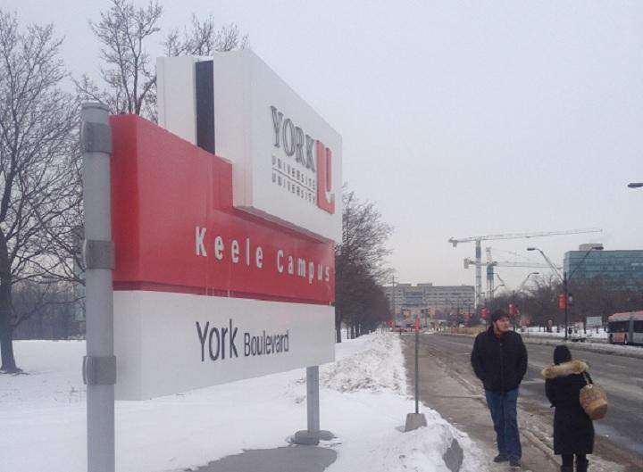 York University Keele Campus on March 3, 2015.