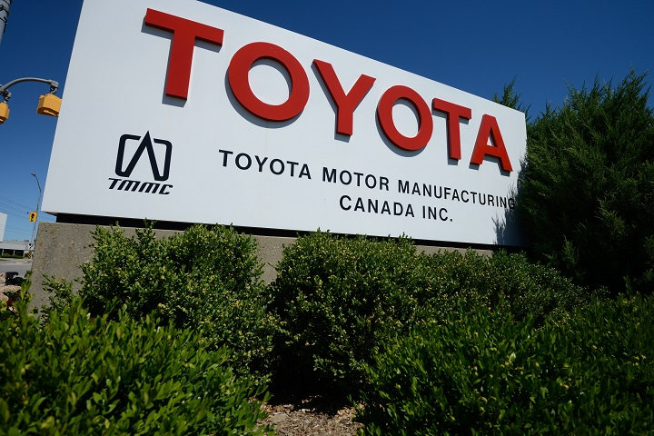 Toyota Motor Manufacturing Assembly plant at Cambridge, Ontario.