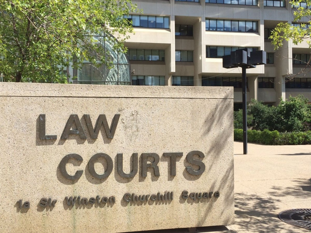 The Law Courts in Edmonton, Alberta. Summer 2014.