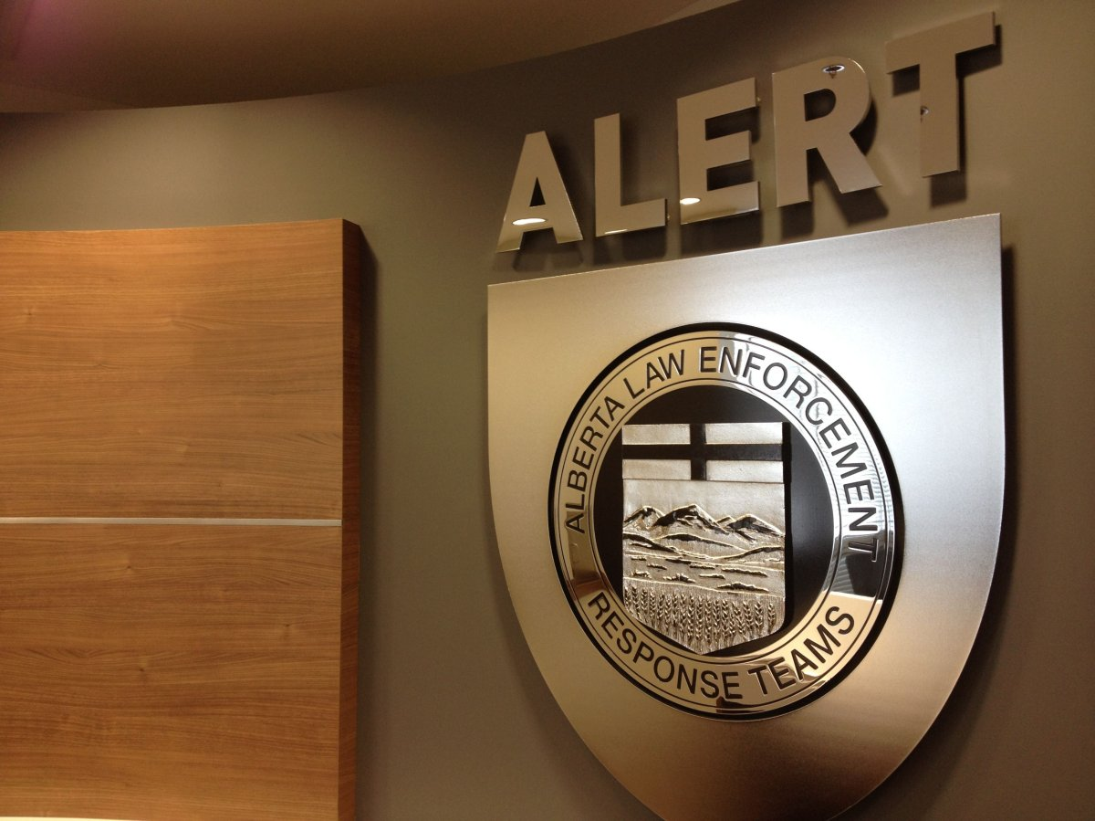 ALERT arrests Hells Angels member Dominic DiPalma Jr. in southeast Edmonton, Friday, Feb. 12, 2016.