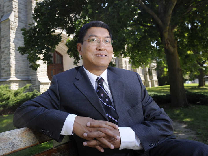 """Amit Chakma says the  controversy surrounding his pay has taken a """"tremendous toll"""" on him and his family."""