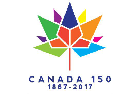 The winning entry for the controversial Canada 150 logo contest