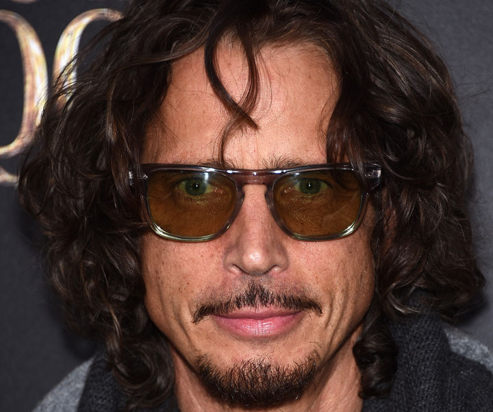 Chris Cornell, pictured in December 2014.