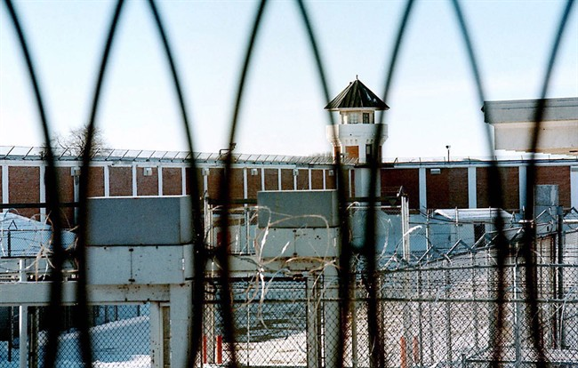 The men's maximum security unit of the Saskatchewan Penitentiary in Prince Albert, Sask., is shown in a Jan. 23, 2001 photo.